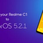 Realme C1 ColorOS 5.2.1