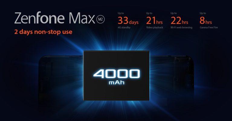 ZenFone Max M2 Battery