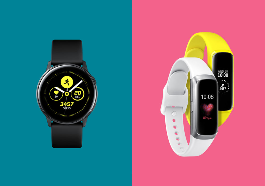Galaxy Watch Active, Galaxt Fit, Galaxy Fit e