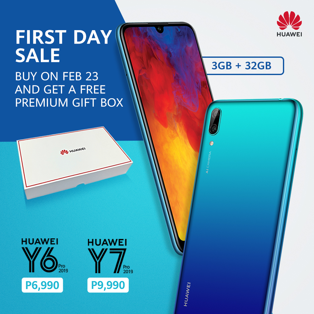 Huawei Y6 Pro 2019 and Y7 Pro 2019