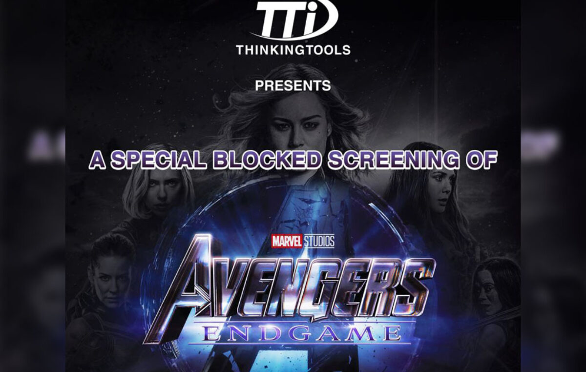 Score Movie Tickets for Avengers: End Game in this Thinking Tools Promo