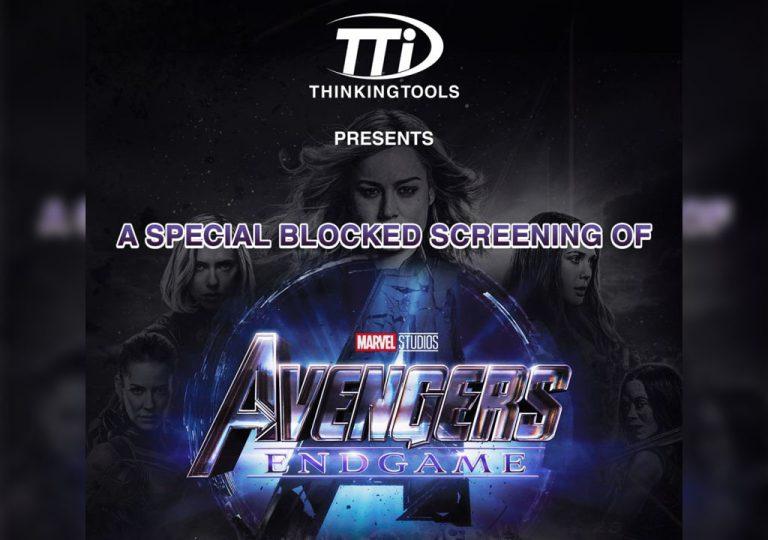 Avengers End Game Block Screening Thinking Tools Promo