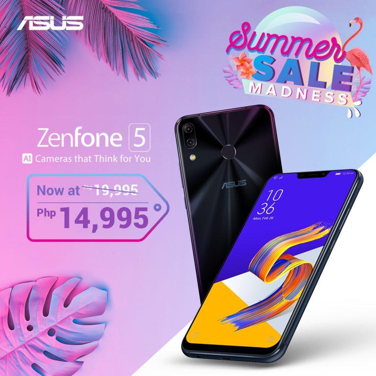 ZenFone Summer Madness Sale - ZenFone 5