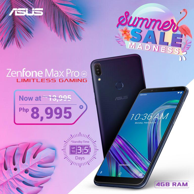 ZenFone Summer Madness Sale - ZenFone Max Pro M1