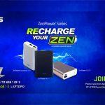 ASUS Recharge Your Zen Promo