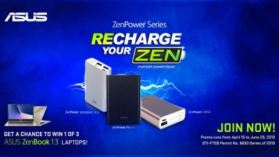 Power Up the Summer with ASUS PH's Recharge Your Zen Promo