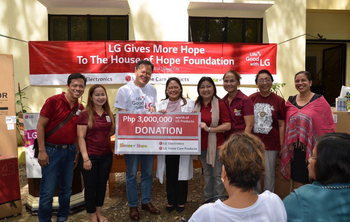 LG Kids Day – LG Donates to House of Hope Foundation