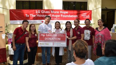 LG Kids Day – LG Donates to House of Hope Foundation
