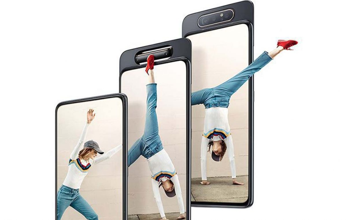 Samsung Galaxy A80 with Rotating Main Camera Revealed