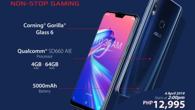Zenfone Max Pro M2 on Flash Sale on the Shopee 4.4 Summer Bazaar
