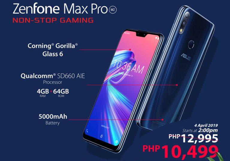 ZenFone Max Pro M2 Shopee 4.4