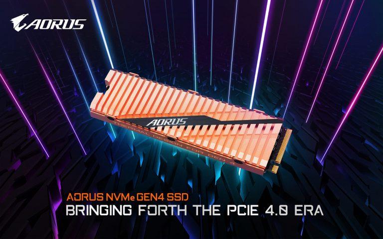GIGABYTE Aorus NVMe Gen4 SSD PCIe 4.0