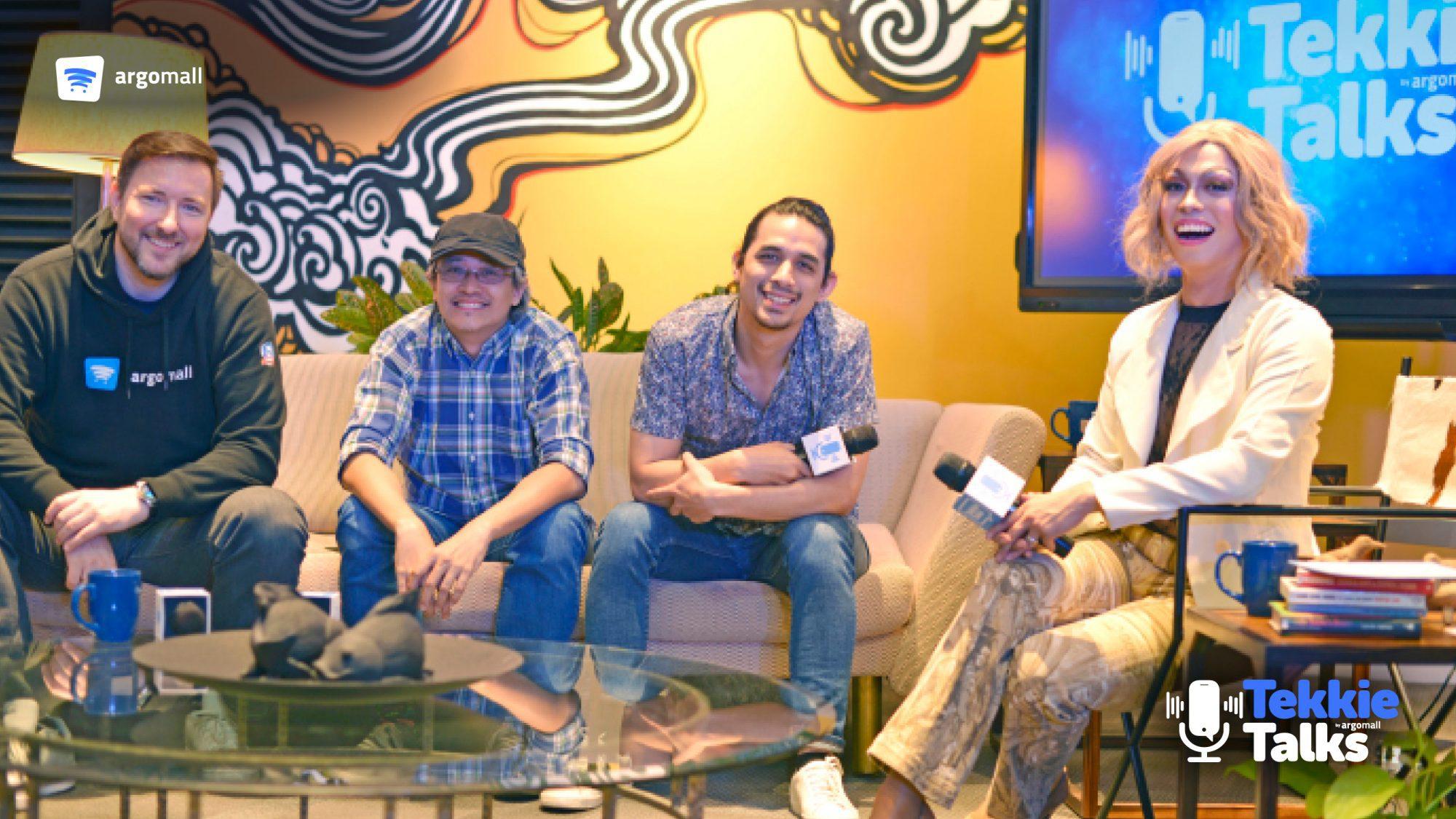 Karel Holub, Peejo Pilar, Jef Flores, and Aquilina Bravo - Tekkie Talks