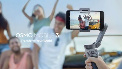 DJI Osmo Mobile 3 Revealed – Lighter, Smaller, and Folds Up
