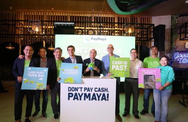 """""""Don't Pay Cash. PayMaya!"""" Campaign Accelerates Digital Payment Adoption"""