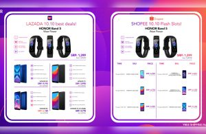 HONOR 10.10 Sale Featuring the new HONOR Band 5