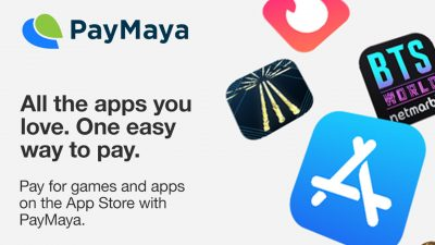PayMaya Now Available as Payment Method in the App Store
