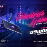 ROG Phone 2 Overdrive Gaming Online Launch on October 11, 2019