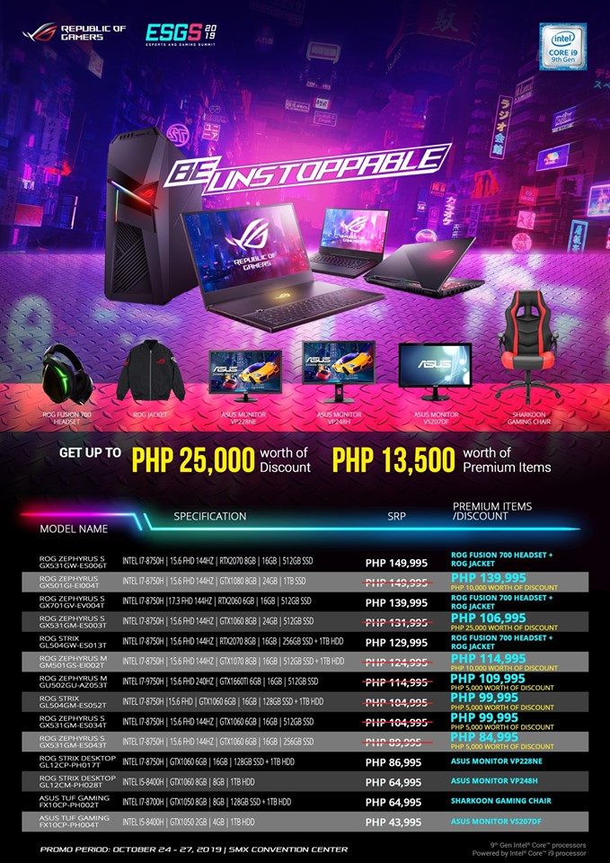 ROG System Products