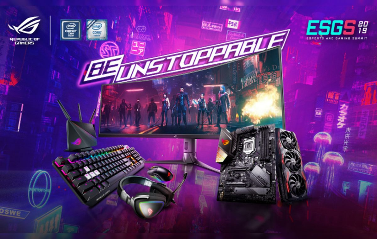 ASUS Republic of Gamers Ready to Dominate ESGS 2019