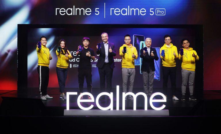 realme 5 and realme 5 Pro Launch