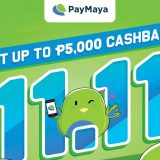 Score Amazing Deals with PayMaya when you Shop this 11.11