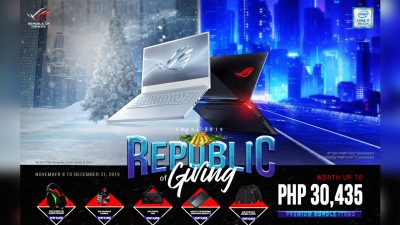 Republic of Giving – The ROG Share 2019 Holiday Promo