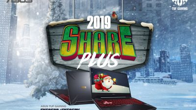 Announcing the Share 2019 Plus – New Bundles for ASUS Holiday Promo