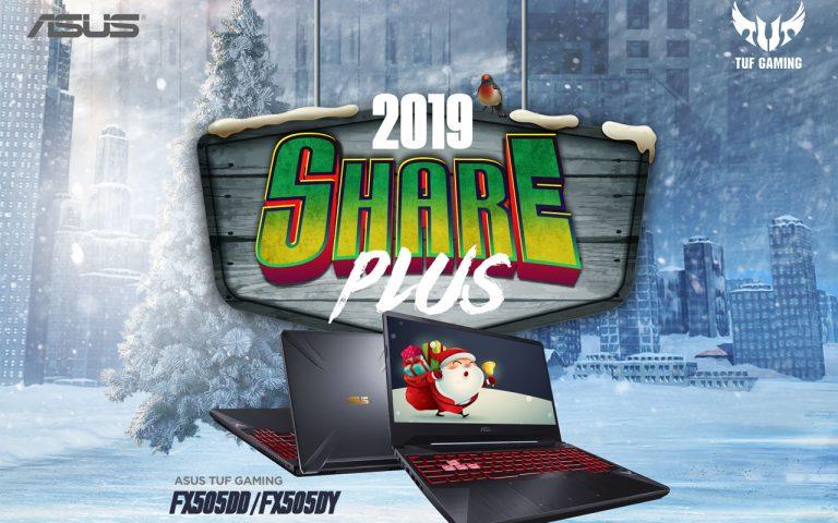 ASUS Share 2019 Plus Promo