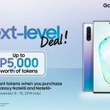 Samsung Galaxy Note 10 and Note 10+ Weekend Token Promo