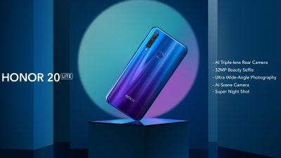 HONOR 20 Lite Arriving Soon in the Philippines Along with the HONOR 9X
