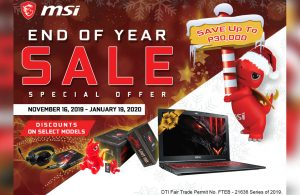 Check Out the MSI End of Year Sale Promos Here