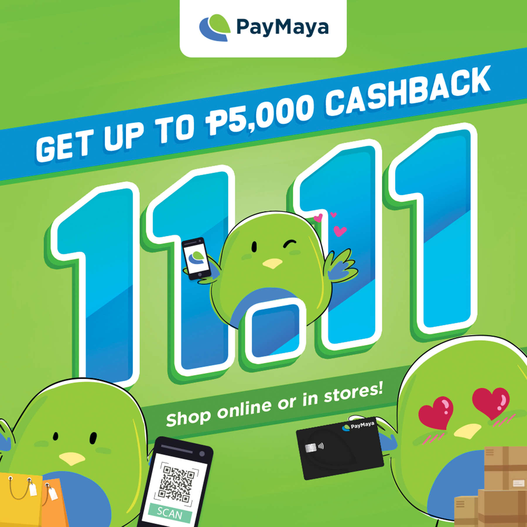 PayMaya 11.11 Deals