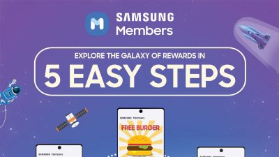 Samsung Members – Explore a Whole Galaxy of Rewards