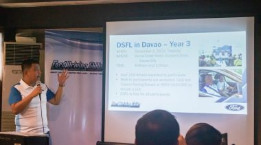Driving Skills for Life – Ford's Safe Driving Program is Back in Davao