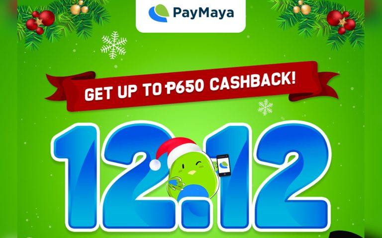 PayMaya 12.12 Deals