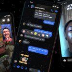 Star Wars Rise of Skywalker Facebook Messenger Features