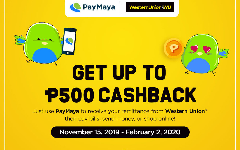PayMaya x Western Union Remitance