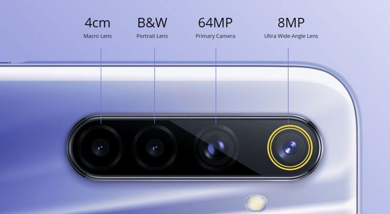 realme 6 quad camera
