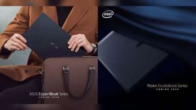 ASUS Unveils the All New ExpertBook B9 and ProArt StudioBook Series