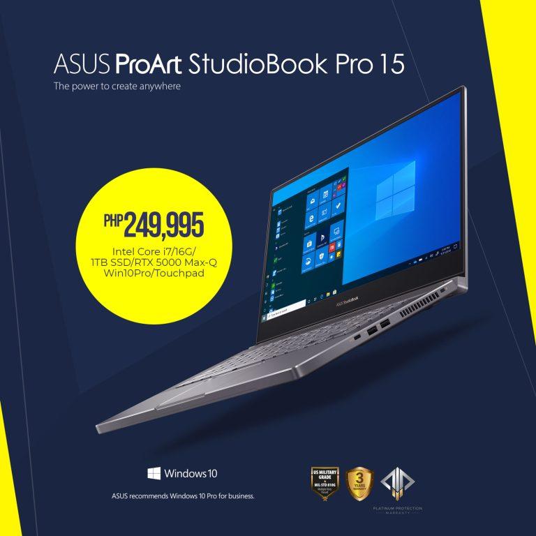 ASUS ProArt StudioBook Pro 15 (W500)