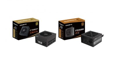 GIGABYTE Launches P750GM, P550B, P450B Compact Power Supplies
