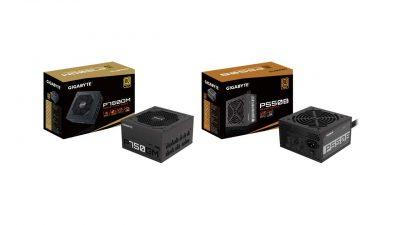 GIGABYTE Launches P750GM, P550B, P450B Compact Power Supplies