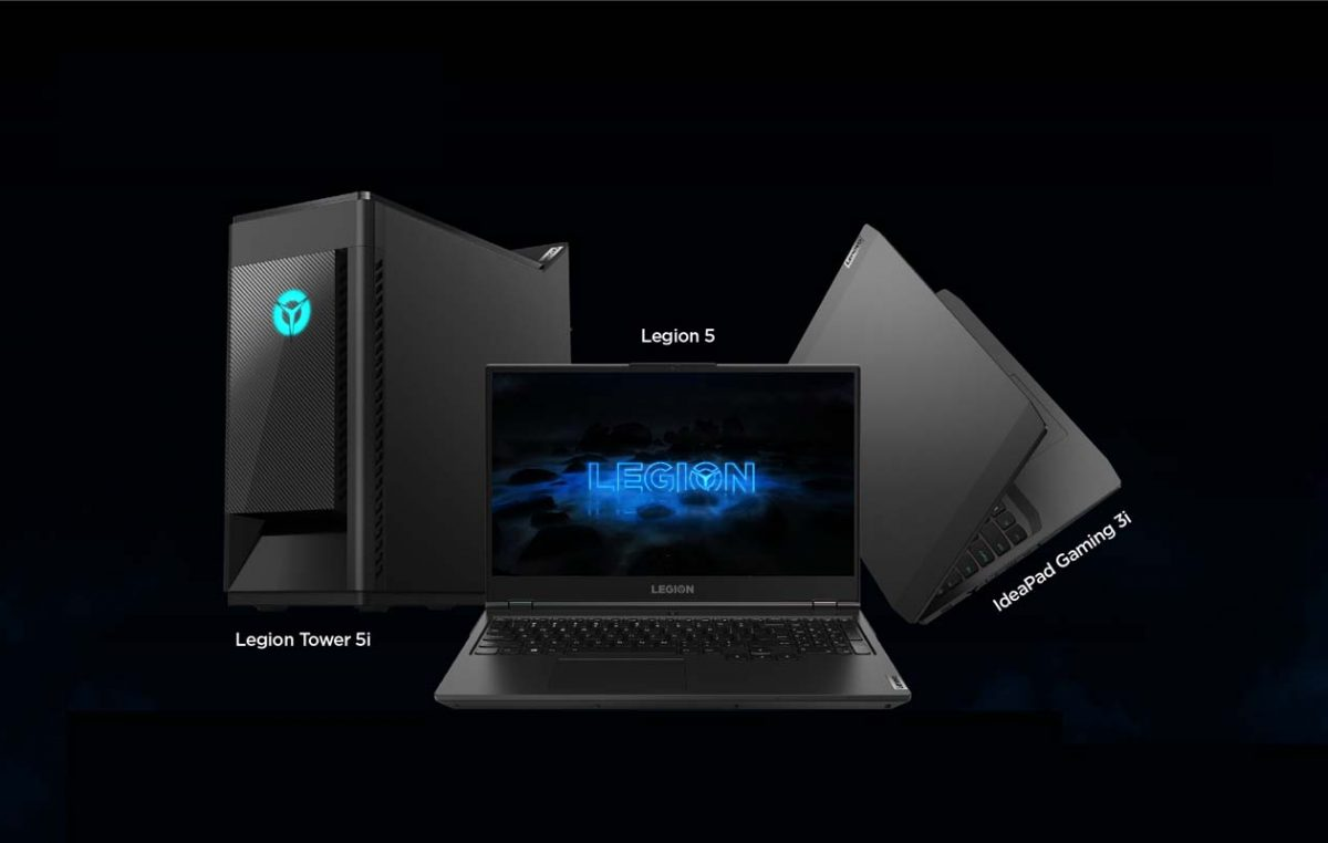 New Lenovo Legion Devices Now on Pre-Order + Free Accessory Bundles