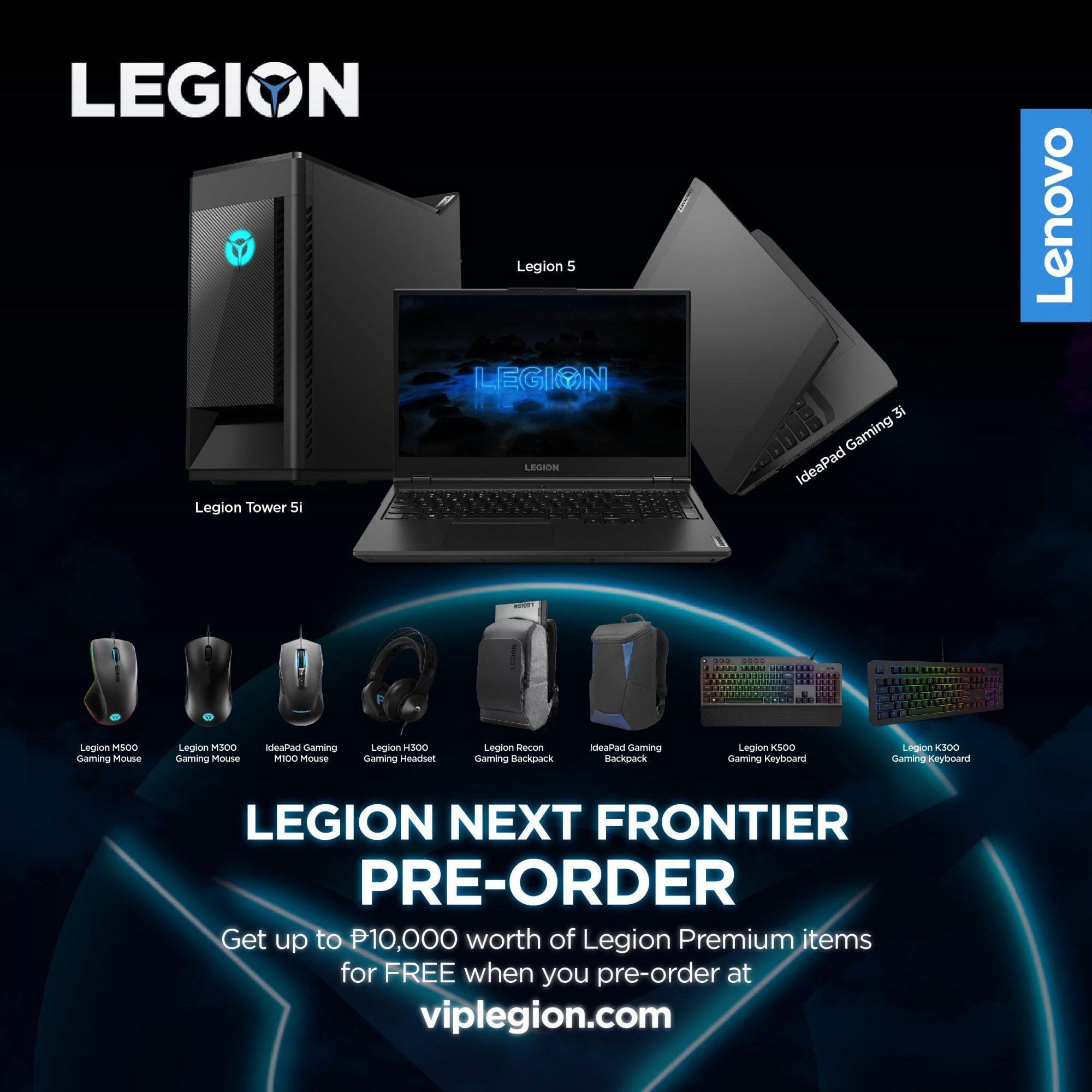 Lenovo Legion pre-order promo