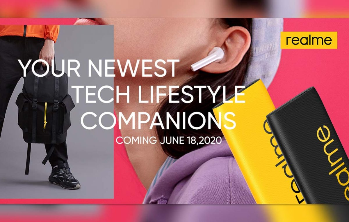 New realme Tech Lifestyle Companions to be Launched on June 18, 2020