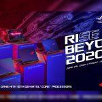 ROG Rise Beyond 2020 Launch