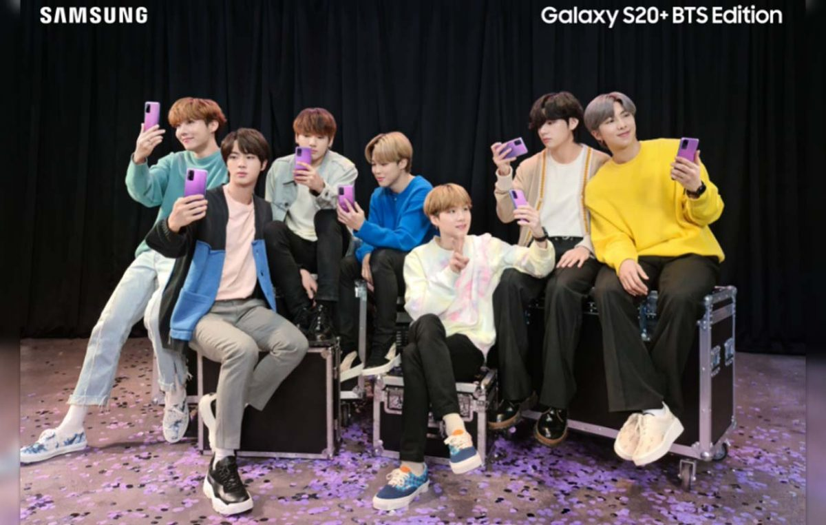 Samsung Galaxy S20+ BTS Edition is Now on Pre-Order in the Philippines