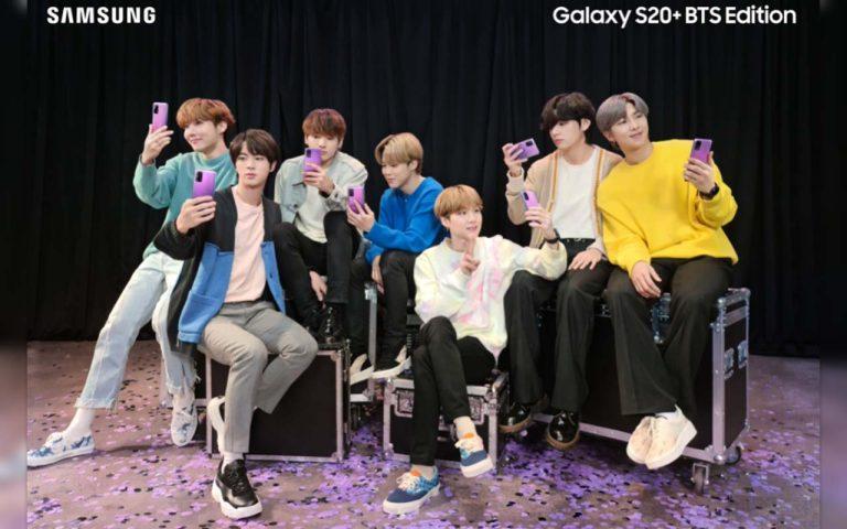 Samsung Galaxy S20+ BTS Edition Pre-Order