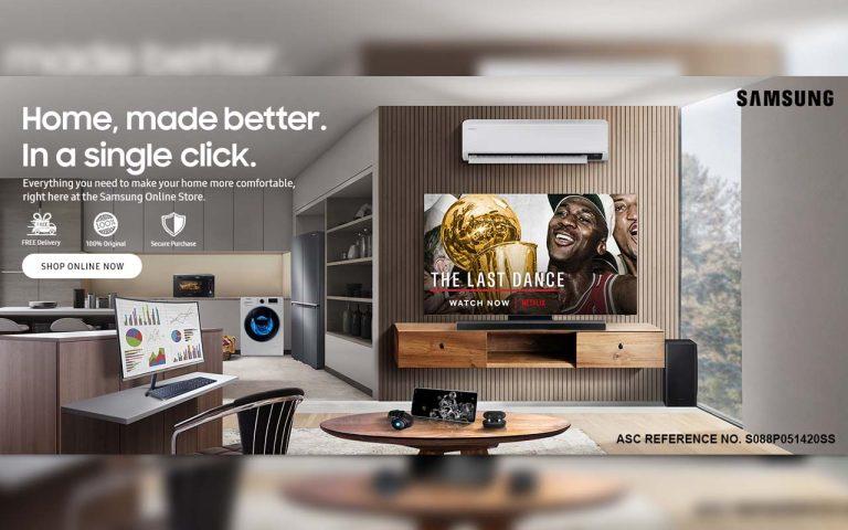 Samsung Online Store Launch